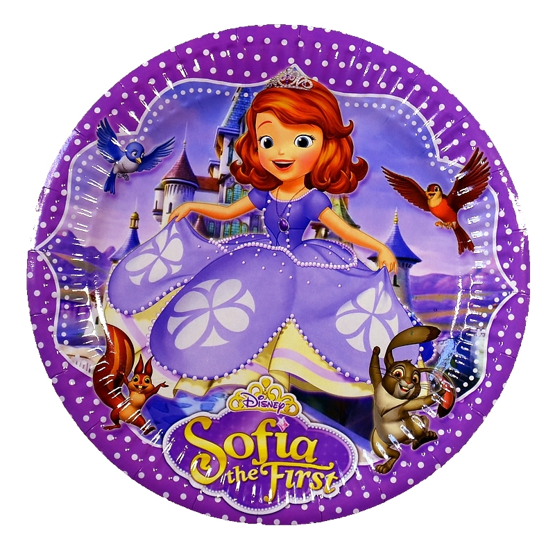 Тарелка Sofia The First